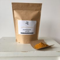 turmeric golden milk latte powder