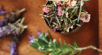 organic tea blends